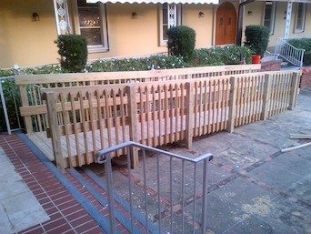 Wood Handicap Ramp