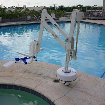 Hotel  Handicap Pool Lift