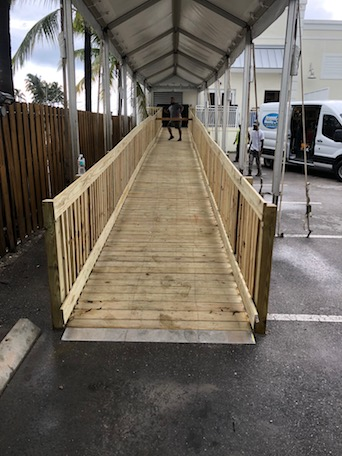 Commercial Concrete handicap Ramp