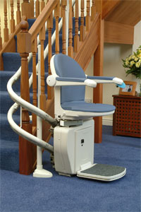 Stair Lifts Sterling 2000 Series Stair Lift Miami Fort Lauderdale FL