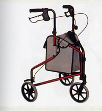 Ultra Light 3 Wheeled Aluminum Walker Equipment To