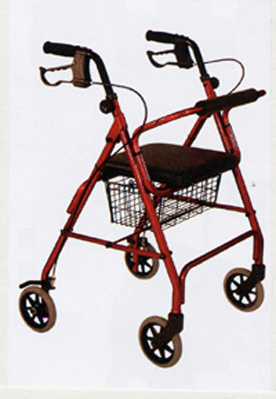 Ultra – Light 4 Wheeled Aluminum Walker Specialty Products Boca Raton