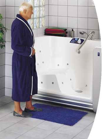 Freedom Bath Equipment To Assist Handicapped Elderly
