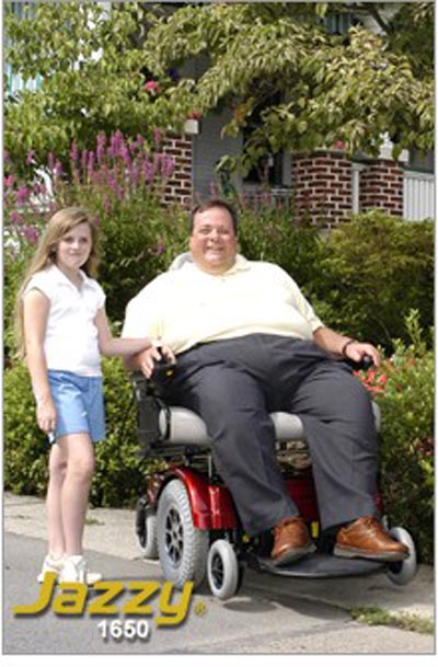 Heavy Duty Power Chair Jazzy 1650 171 Equipment To Assist