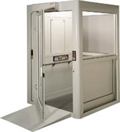 Handicap Platform Lifts Enclosed Vertical Platform Lift Boca Raton Fort Lauderdale Florida