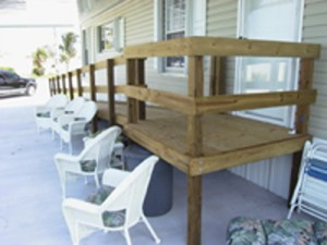 Custom Wood Ramp For Wheel Chairs Fort Lauderdale Florida