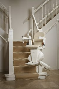 Stair Lifts Handicare Single Rail Curve Stair Lift