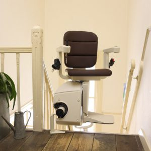 Stair Lifts Handicare Single Rail Curve Stair Lift Boca Raton Fort Lauderdale Fl
