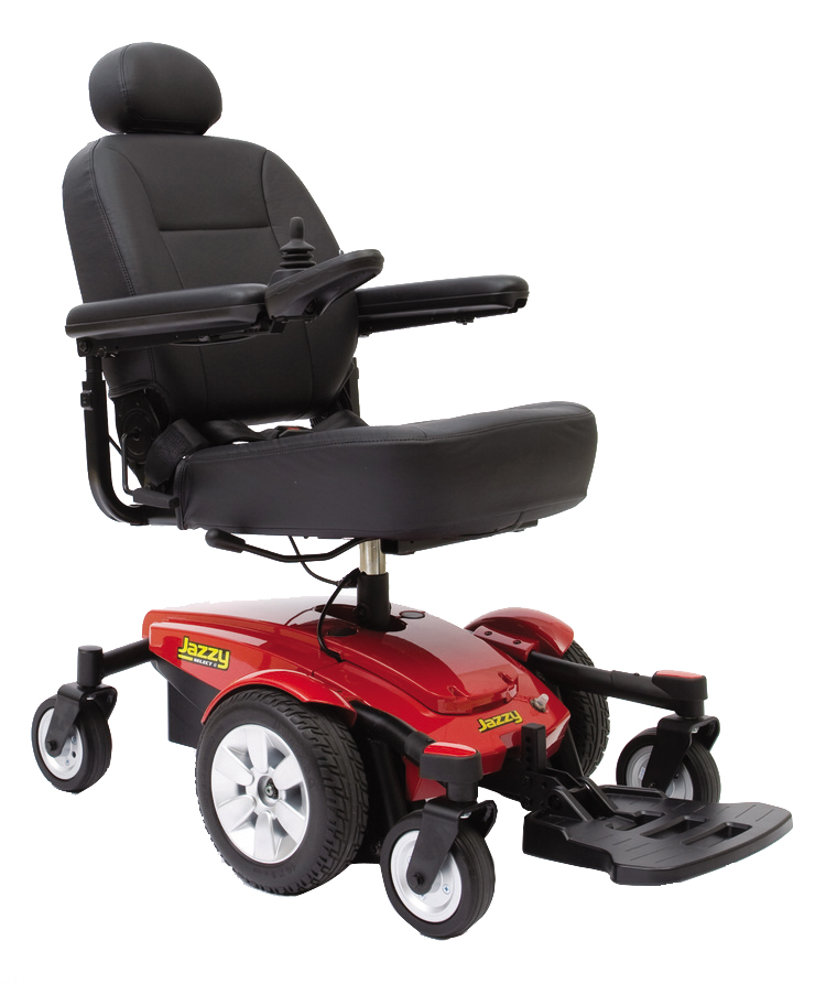Power Wheelchair Jazzy Select® 6 Power Wheelchairs Boca Raton Fort Lauderdale Florida